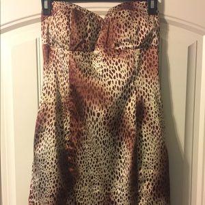 Dresses & Skirts - Sexy Leopard Print Dress-Size Small